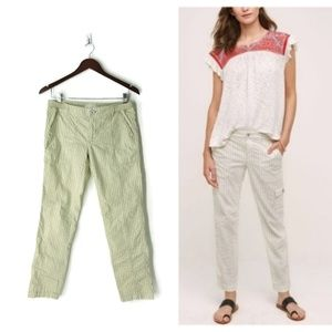 Anthropologie Cargo Hei Hei Striped Wander Pants